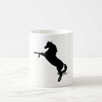 Arabian Horse Silhouette Coffee Mug