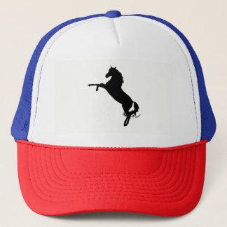 Arabian Horse Silhouette Trucker Hat