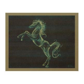 Arabian Horse Wood Wall Art Print