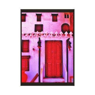 Arabian House Design Canvas Print