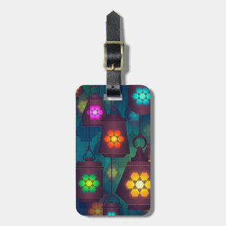 Arabian Lanterns Middle Eastern design Luggage Tag