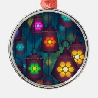 Arabian Lanterns Middle Eastern design Metal Ornament