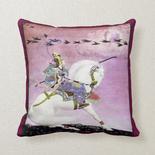""" Arabian Nights"" Throw Pillow"