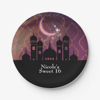 Arabian Nights Moroccan Middle Eastern Party Paper Plate