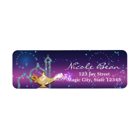 Arabian Nights Moroccan Party Address Labels
