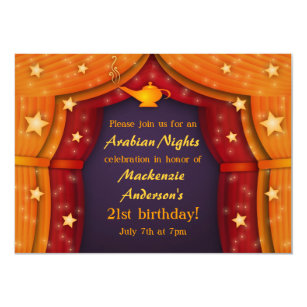 Arabian Invitations Announcements Zazzlecomau