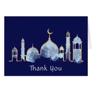 Arabian Nights Thank You Cards