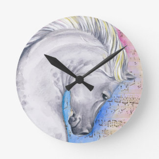 Arabian Song Round Clock