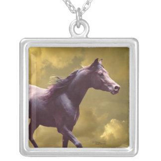 Arabian Stallion Stormy Sunset Necklace