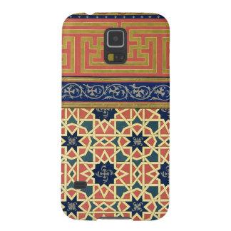 Arabic decorative designs (colour litho) galaxy s5 cases