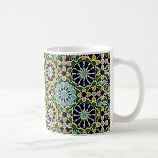 Arabic Design #10 at Emporio Moffa Basic White Mug