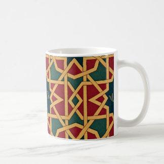 Arabic Design #1 at Emporio Moffa Basic White Mug