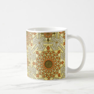 Arabic Design #4 at Emporio Moffa Basic White Mug