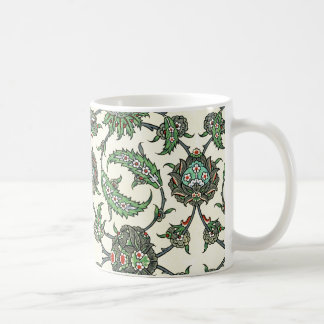 Arabic Design #5 at Emporio Moffa Basic White Mug