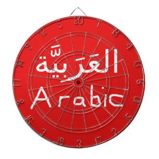 Arabic Language Basic Design Dartboard