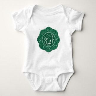 Arabic Muslim Calligraphy Saying Allah Baby Bodysuit