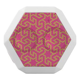 Arabic Star Shaped Pattern White Boombot Rex Bluetooth Speaker