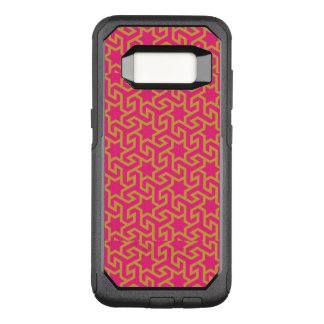 Arabic Star Shaped Pattern OtterBox Commuter Samsung Galaxy S8 Case