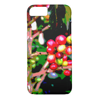 Arabica Coffee Cherries iPhone 7 Case