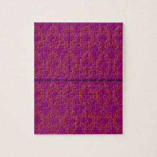 ARABICA Purple Ornaments. Luxury Products Jigsaw Puzzle