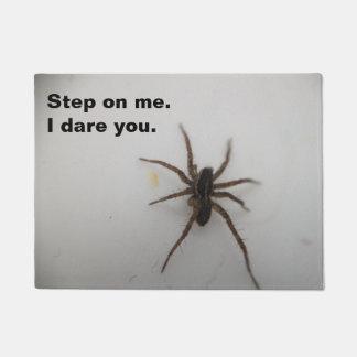 arachnophobia doormat