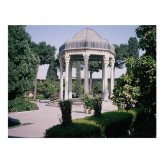 Aragah e Hafez, tomb of an important poet who died Postcard