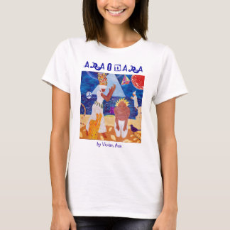 ARAODARA T-shirt by Vivian Ara