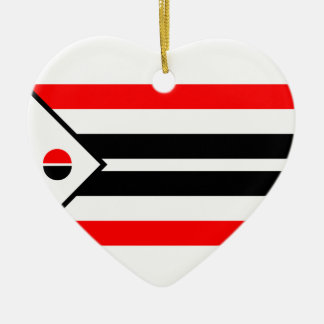Arapaho Flag Ceramic Ornament