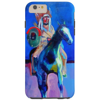 Arapaho on horseback tough iPhone 6 plus case