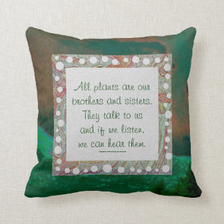 arapahoe tribe wisdom throw pillow
