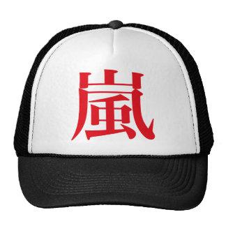 Arashi Japanese Storm Trucker Hat