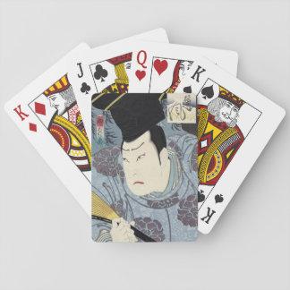 Arashi Rikan III Japanese Woodblock print Playing Cards