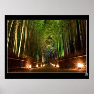Arashiyama Path Poster