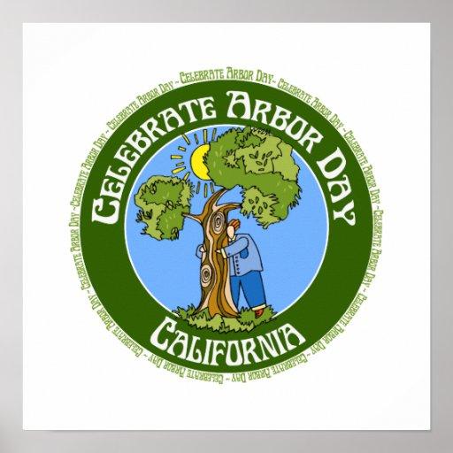 Arbor Day California Poster