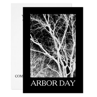 arbor day ghost tree card