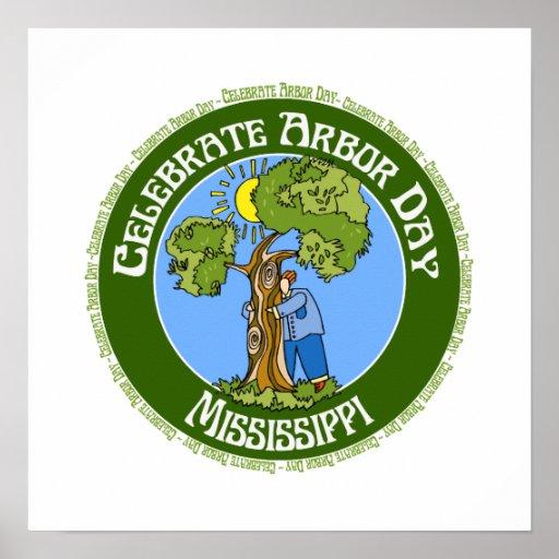 Arbor Day Mississippi Poster