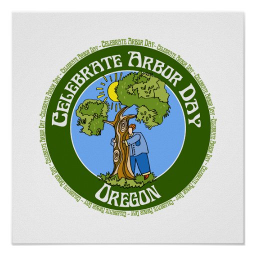 Arbor Day Oregon Poster