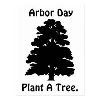 Arbor Day;Plant A tree Postcards