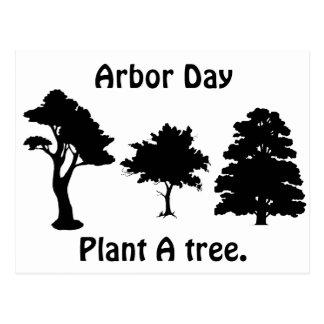 Arbor Day Plant A tree Postcards