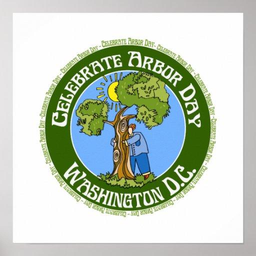 Arbor Day Washington DC Poster