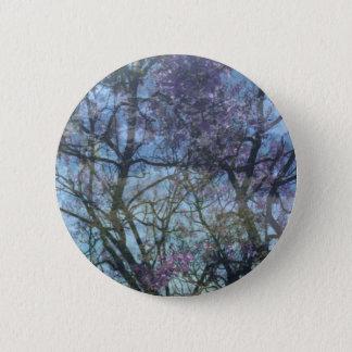 Arbor in Bloom, 2¼ Inch Round Button