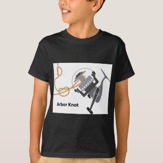 Arbor knot Marked diagram vector illustration T-Shirt