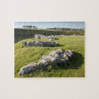Arbor Low Stone Circle in Derbyshire photo Jigsaw Puzzle