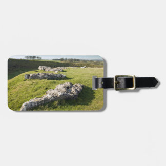 Arbor Low Stone Circle in Derbyshire photo Luggage Tag