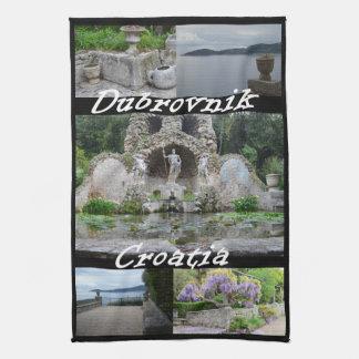 Arboretum, Dubrovnik, Croatia Tea Towel