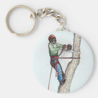 Arborist Tree Surgeon Stihl Key Ring