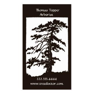 Arborist Tree Trimmer Business Card
