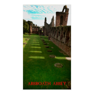 Arbroath Abbey Poster