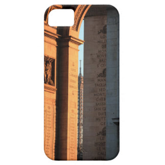 ARC DE TRIOMPHE and EIFFEL tower 2 Barely There iPhone 5 Case