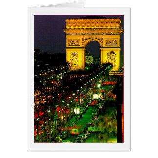 Arc de Triomphe Card
